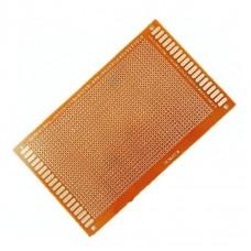 Placa perforada de 9x15 cm  con contactos de cobre